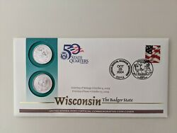 Coin Cover Wisconsin State Quarters