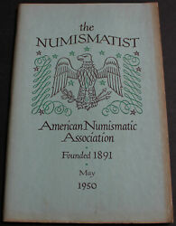 Antique Numismatist 1950 Early Mints Of The New World Herodotus + More Scarce