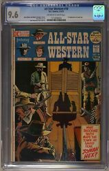 All Star Western 10 Cgc 9.6 Off White To White Pages 1st Jonah Hex