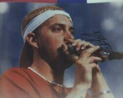 D-12 Eminem Marshall Mathers Signed Rap 8x10 Photo W/certificate Autographed 299