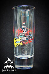 Hard Rock Cafe Moscow Russia St. Basil City Shot Glass 2013