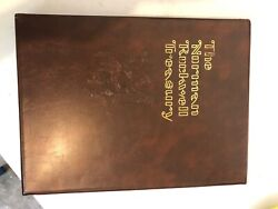 The Norman Rockwell Treasury By Thomas Buechner 1979 Rare Coffee Table Book