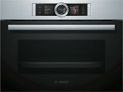 Bosch Csg636bs3 Compact Steam Oven Series 8 Free Ship Worldwide