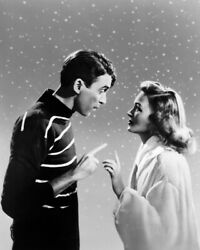 Itand039s A Wonderful Life James Stewart Donna Reed Make A Wish 12x18 Poster