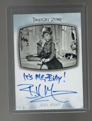 2020 The Twilight Zone Archives Bill Mumy Ai-4 Inscription It 'me Billy Card