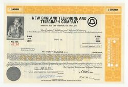 New England Telephone And Telegraph Co. Bond