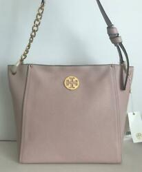 Tory Burch EVERLY Hobo in Shell Pink Handbag NWT $478 Style 55217 0619 $229.00