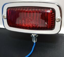 Vintage Vw Reverse Light Assembly, With Hella Red Lens, Beetle