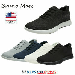 Bruno Marc Mens Walking Shoes Breathable Fashion Sneaker Casual Shoe Size 6.5 13 $18.89