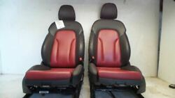 13 14 15 16 17 Audi Sq5 Red And Black Sline Seats With Door Panels