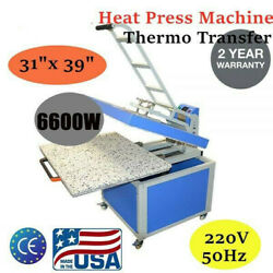 220v 31x 39 Large Format Heat Press Machine Textile Thermo Transfer
