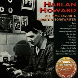 Howard, Harlan - All Time Favourite Country Songwriter - Howard, Harlan Cd M3vg