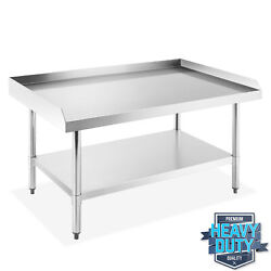 Stainless Steel Nsf Restaurant Equipment Stand Grill Table W/ Undershelf
