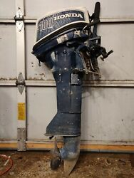 Parting Out 2... Honda 4stroke 100 10hp B100 Boat Motor Outboard Parts