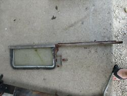 1956-1957 Chevrolet Bel Air Hard Top Right Rh Wing Vent Window Track Parts 57
