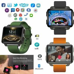 3G Smart Watch Android Bluetooth WIFI MTK6572 GPS Wristwatch for Samsung iPhone