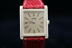 Piaget Toblenore 931 A4 In Yellow Gold From The 1980andrsquos