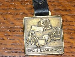 Vintage Caterpillar Cleveland Brothers Equipment Company Watch Fob