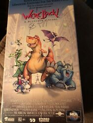 We're Back A Dinosaur's Story Vhs, 1995 Steven Spielberg Animated Adventure