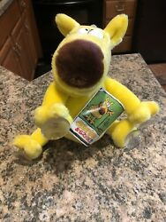 """Vintage 1987 Mother Goose And Grimm Grimmy Plush Toy 24k 1987 11"""" New W/ Tags"""