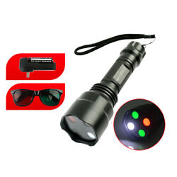 Portable Metal Amblyopia Optometry Worth 4 Dot Test With Red Green Glasses Torch
