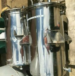 304 Stainless Steel Jacketed Tank 20 X 32 With Sanitary Connections