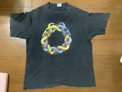 90and039s Pushead Ring Skulland039and039 Made In 1991 Rare Design Usa Vintage T Shirt