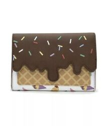 Loungefly Disney Princess Ice Cream Cones Wallet!  IN HAND SHIPS NOW $45.00