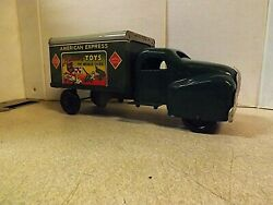Vintage American Express Truckbanner Toys No. 782