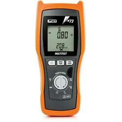 Ht Instruments M73 Rcd Tester Global Earth Resistance Meter And Trms Dmm