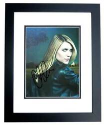 Claire Danes Signed - Autographed Homeland Actress 8x10 Inch Photo Framed