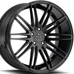 22and039and039 Inch Blaque Diamond Bd2 Wheels Black Audi A8 S8 S7 Bentley Gt S550 New Rims