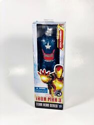 NEW Marvel Iron Man 3 Titan Hero Movie Series quot;Iron Patriotquot; 12quot; Action Figure