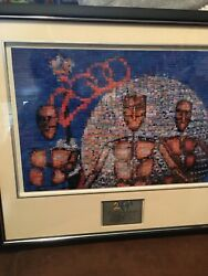 Disney photomodaic 2000 Tapestry Of Nations by Robert Silvers