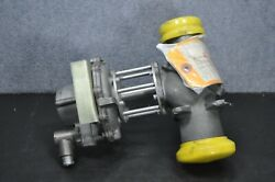Military Aircraft Fire Protection System Parker Hannifin Stop Diaphragm Valve