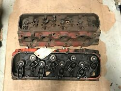 Original Gm 427 Pair Of Heads 1063 G 8 8 And D 18 9 3931063