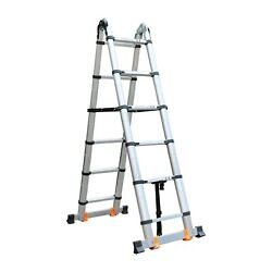 3.2m A-frame Folding Portable Telescopic Roof Top Tent Ladder Rv Parts Motorhome