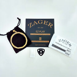 Guitar Strings Coated Pillow Touch Custom Anti-rust Zager Ez-play No Sore Finger