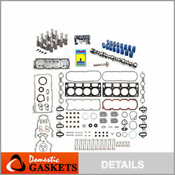 2007-2013 Gm Chevy 5.3 Afm Dod Delete Kit Camshaft 3-bolts Gaskets Lifters+more