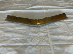 1956 Cadillac Front Bumper Grille Center Bar Tie Section Chrome