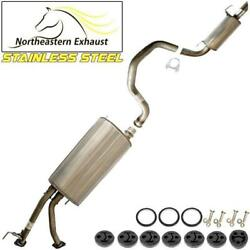 Stainless Steel Exhaust Kit With Hangers And Bolts Fit 2001-2007 Sequoia 4.7l