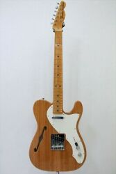 New Fender American Original 60s Telecaster Thinline Aged Natural Maple Fb