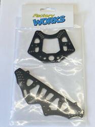 Factory Works Rc10t Lowering Kit For Oval And On-road- Fits .56 And .71 Shocks