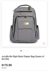 JuJuBe Be Right Back Queen Of The Nile Backpack Diaper Bag $60.00