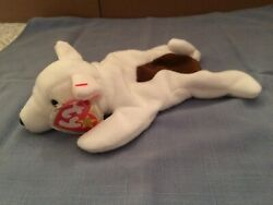 TY Beanie Baby BUTCH the BULL TERRIER MWMT NEW ERRORS NO STAMP ON TUSH TAG