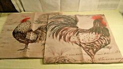 Set of 2 Decorative Pillow Covers NEW