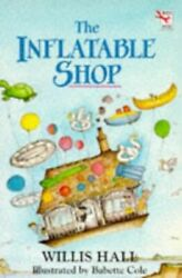 The Inflatable Shop (Red Fox middle fiction) by Hall Willis Paperback Book The