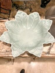 Skyros Designs - Large Flower Bowl 16.5 Grey Green From Portugal