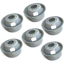 Set Of 6 17x6.5 Dually Steel Wheels For 05-16 Ford F350 Super Duty Oem Qlty 3615