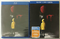 It  New Sealed Blu-ray+dvd Combo Pack W/sleevesee Pictures Expired Digital